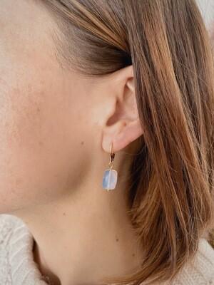 Boucles d'oreilles amulette