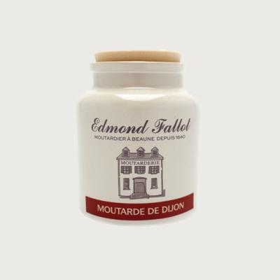 Lot de 12 pots de 250g de moutarde de Dijon Edmond Fallot