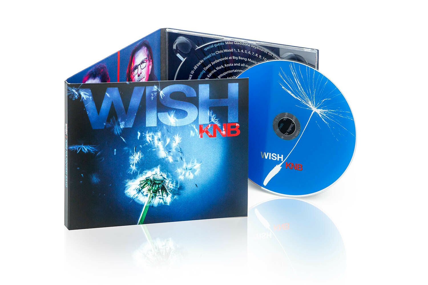 KNB's Second Album Wish. Hard copy CD.