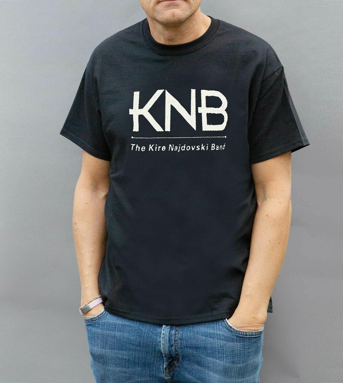 KNB Logo T-Shirt / Black