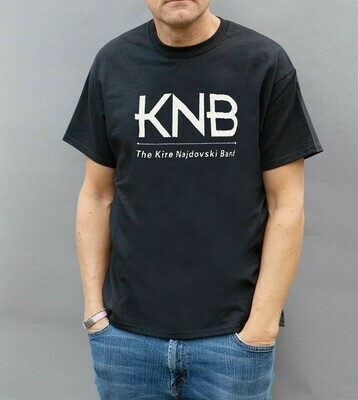 KNB Logo T-Shirt / Black