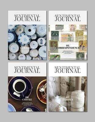 One-year Sentimental Journal (4 volumes)