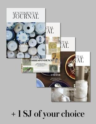 One-year Sentimental Journal (4 volumes) + 1 of your choice Shipping  mid October 2021