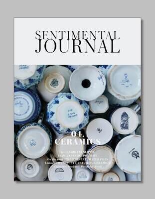 Sentimental Journal  04. CERAMICS (shipped mid October)