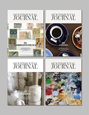 One-year Sentimental Journal (4 volumes starts from 05. Correspondence)