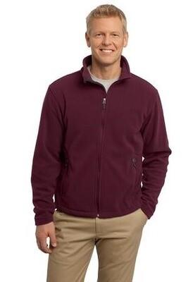 Unisex Fleece Full Zip Jacket