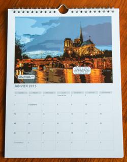 Calendrier Paris 2015