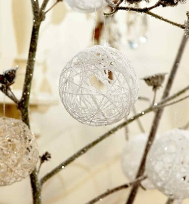 String Christmas Bauble