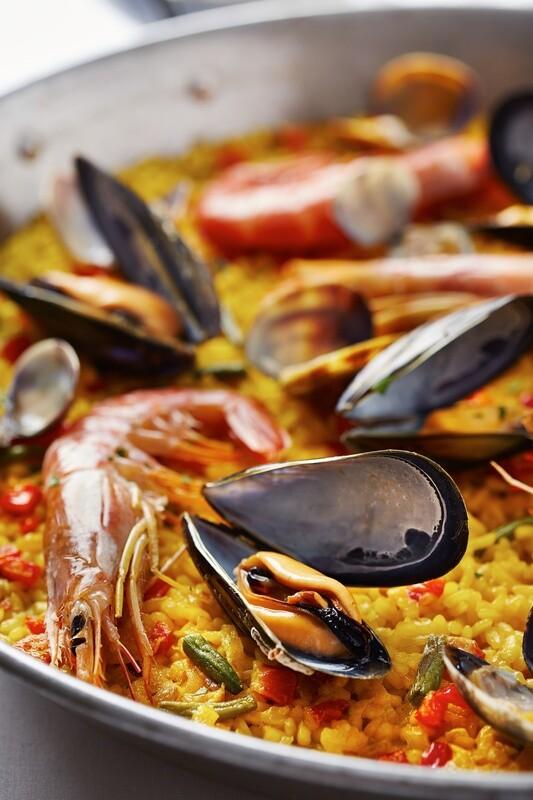 AS - Paella de marisco (Fruits de mer)