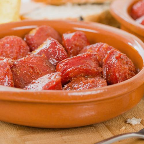 AS - Chorizo a la sidra