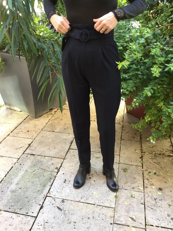 Pantalon marine GRÂCE & MILA