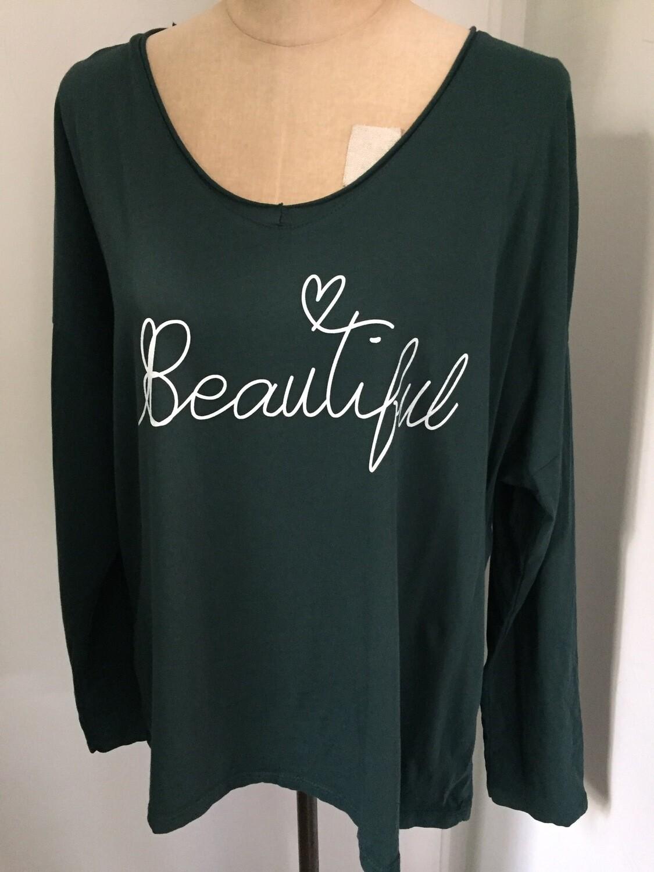 Tee shirt LACOMY «beautiful»