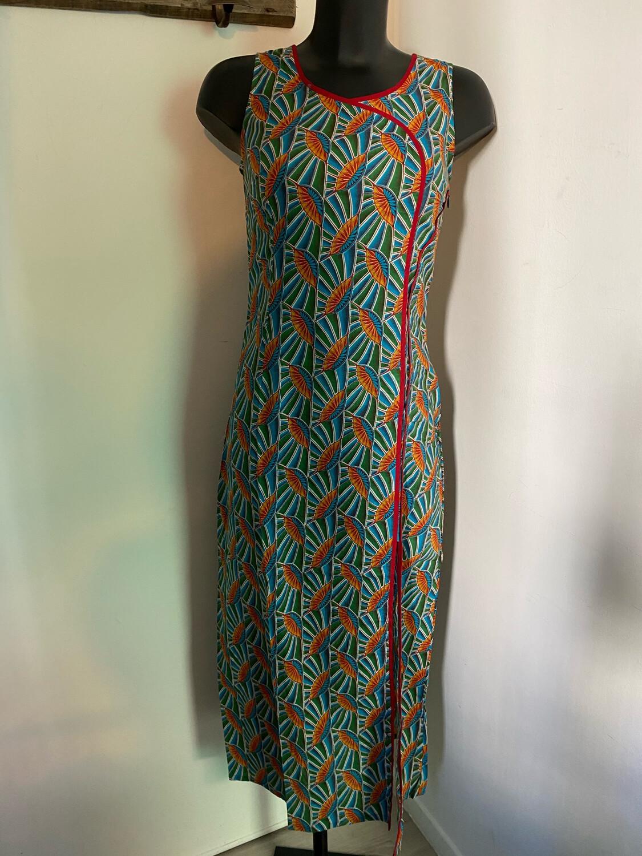 Robe LALITA Klimt bleu