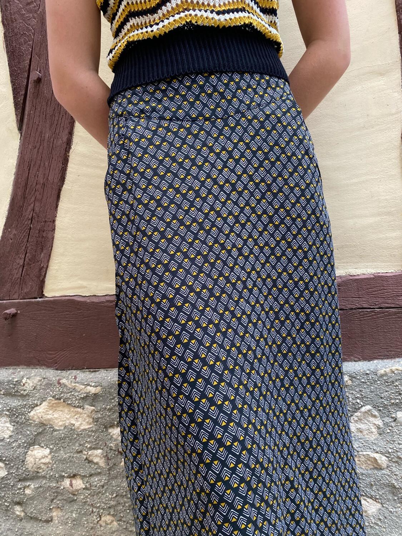 Jupe longue PRINCESSE NOMADE Esther 02 black