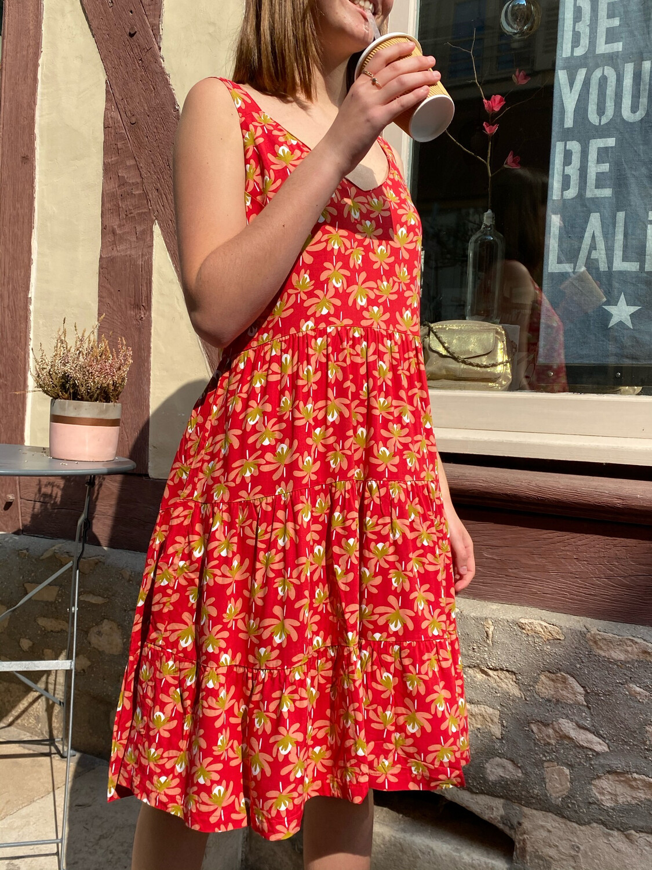 Robe PRINCESSE NOMADE Edith 3 red