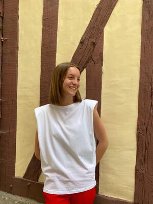 Tee shirt Copenhague GRÂCE & MILA blanc