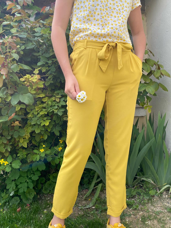 Pantalon CERISE BLUE jaune