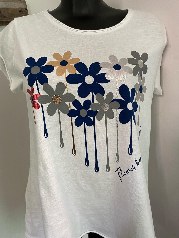 Tee shirt LACOMY Flowers