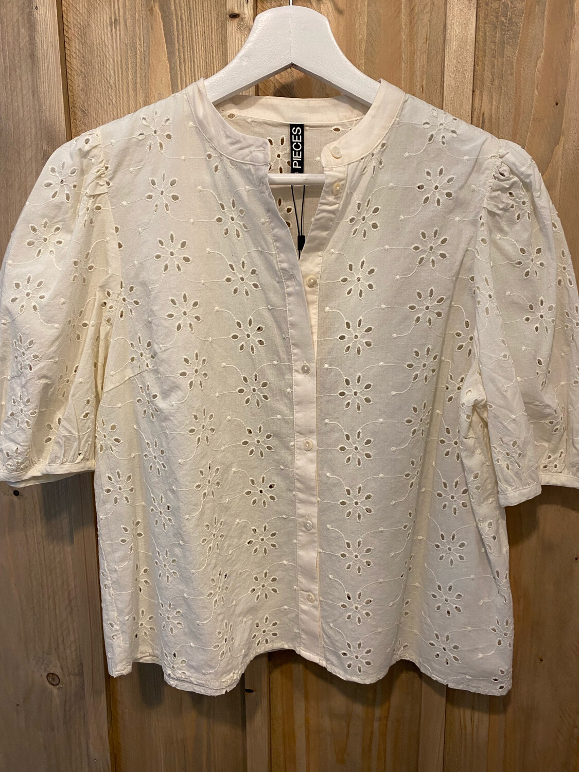 Chemise PIECES broderie anglaise