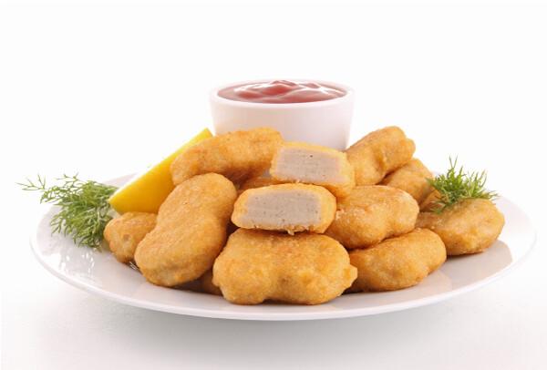Assiette nuggets