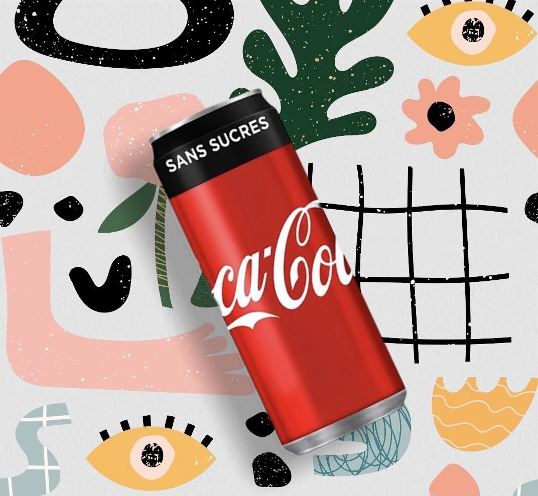Coca-Cola Zero canette 33 cl