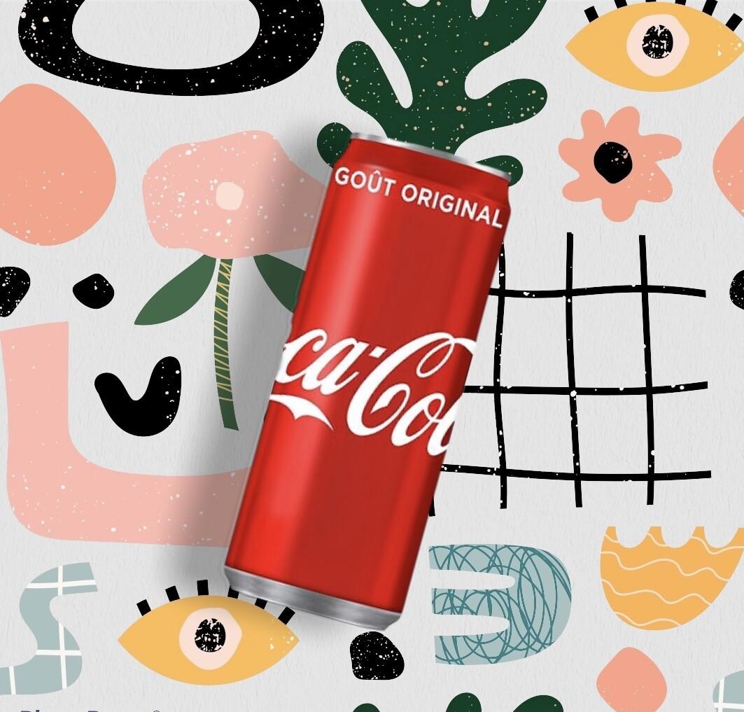 Coca-Cola Classic canette 33 cl