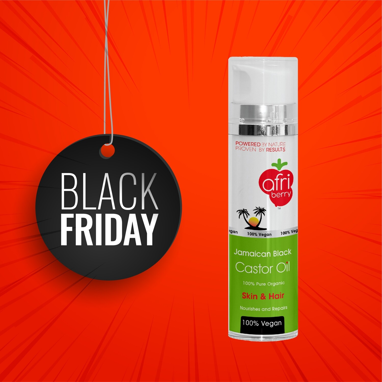 Afri-Berry Jamaican Black Castor Oil - 200ml