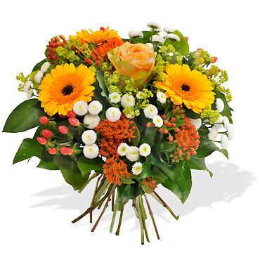 Bouquet Tiges Moyenne Coloré