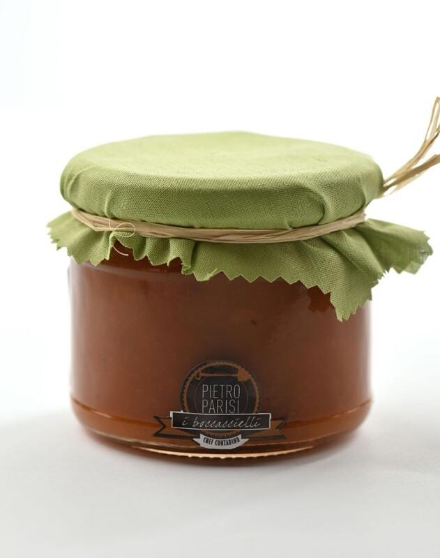 confettura di albicocca del vesuvio 330gr *glutenfree