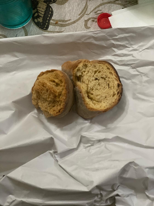 Vascuotto di pane cotto a legna lievito madre 1kg.