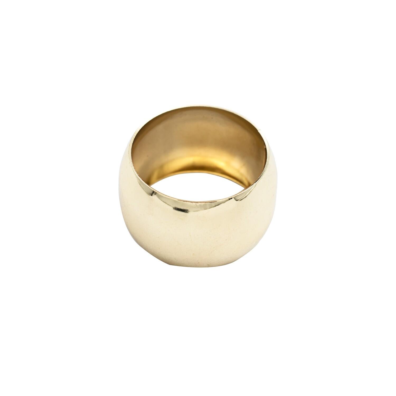 Napkin Ring Solid Ring Holder Gold