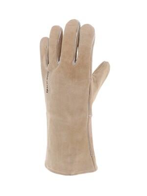 Gant tout croute bovin. Renforce. Double coton. 35 cm. (10 paires)