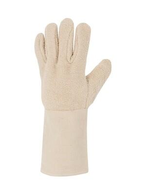 Gant coton bouclette moyenne. Manchettetoile de 15 cm. (10 paires)