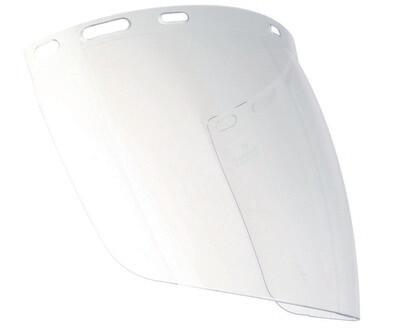 Visiere PC incolore pour FORCECAL ou HG930B. (400 x 225 mm).
