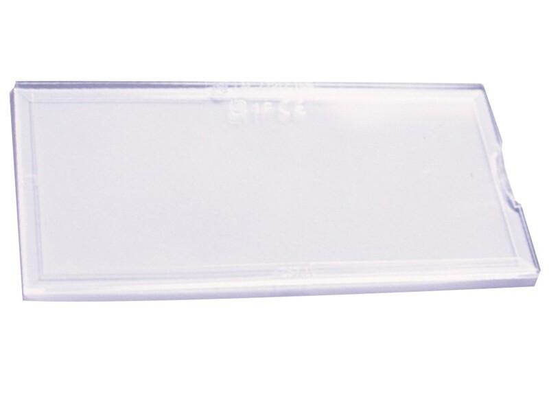 Ecran polycarbonate de rechange. Incolore.