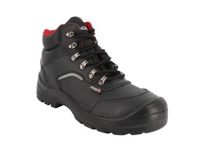 S3 SRC. Chaussures hautes cuir croute lisse