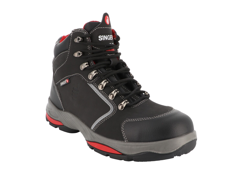 Chaussures hautes cuir Nubuck. S3 HRO SRC