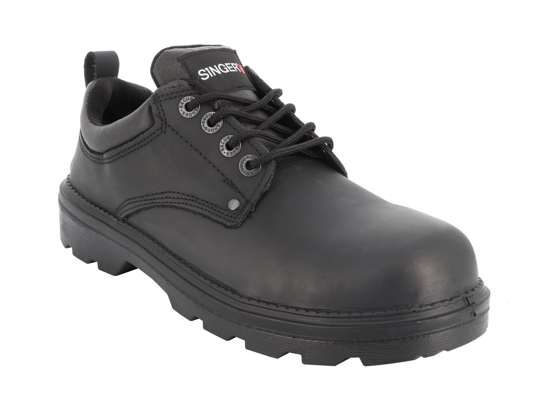 PADOVA. S3 SRC. Chaussures basses cuir fleur.