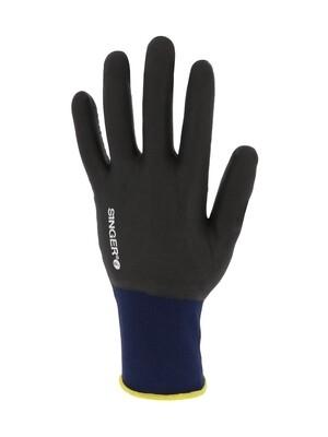 Gant P.V.C C.F.T. Support polyamide sans couture. Jauge 15. (10 paires)