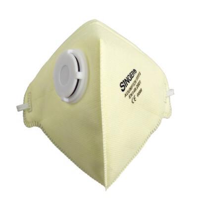 Demi-masque pliable avec valve. FFP3 NR. Boite de 20 pieces. (Paquet de 12 boites)