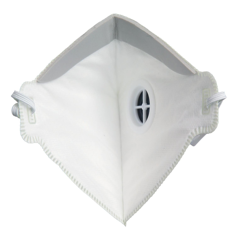 Demi-masque pliable avec valve. FFP3 NR. Boîte de 20 pièces.