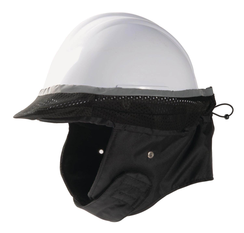 Coiffe de protection contre le froid pour casque de chantier (Paquet de 10)