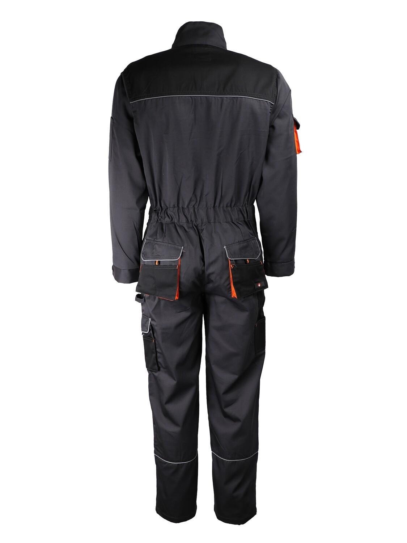 Combinaison un zip. Polyester/coton (65/35). 245 gm2