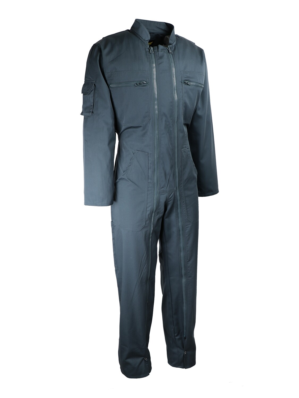 Combinaison de travail double zip. Polyester/coton. 245 g/m2