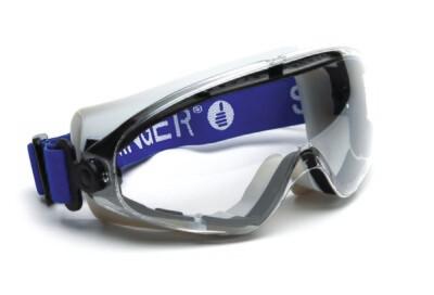 Lunettes masque de protection. Masque bi-matiere.  (Paquet de 10)