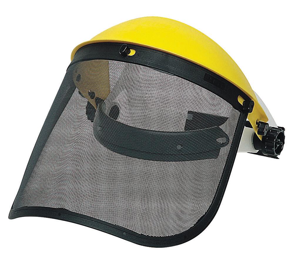 Kit protection du visage. Visière grillagée (305 x 195 mm)