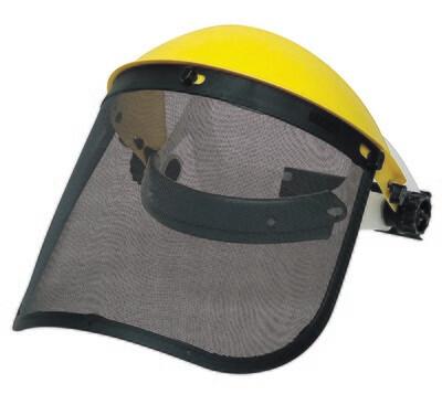 Kit protection du visage. Visiere grillagee (305 x 195 mm)  (Paquet de 10)
