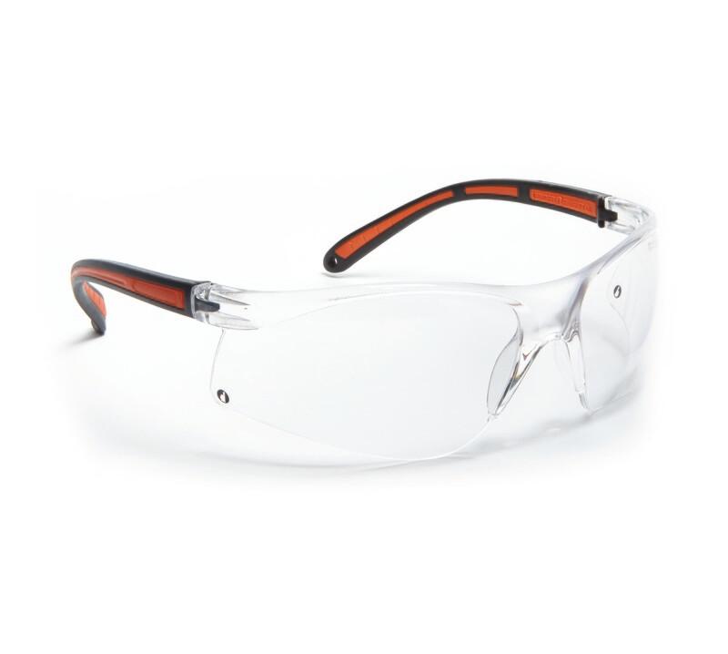 Lunettes de protection. Oculaire incolore antibuée.