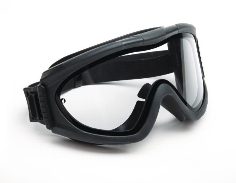 Lunette-masque de protection.  Double écran PC / acétate