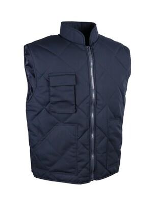 Gilet polyester/coton